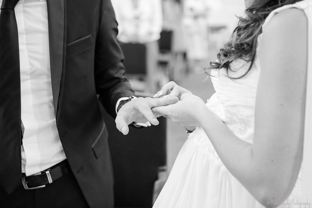 mariage femme enceinte, com'une orchidée la baule, wedding planner paris