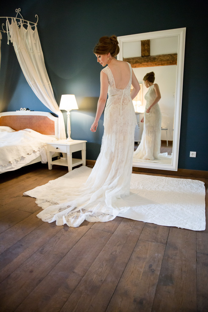 robe de mariée, shooting photo préparatifs mariage