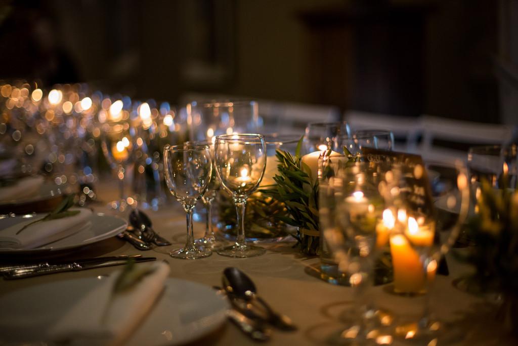bougies mariage, mariage romantique