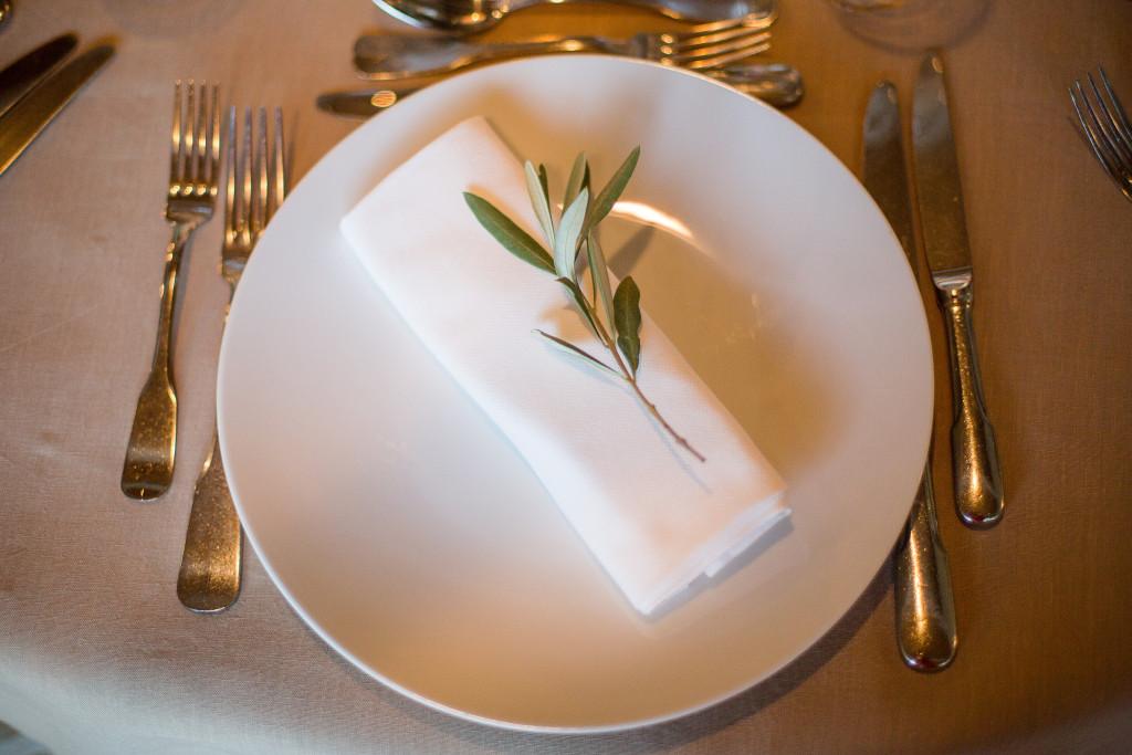 serviette mariage, décoration table mariage
