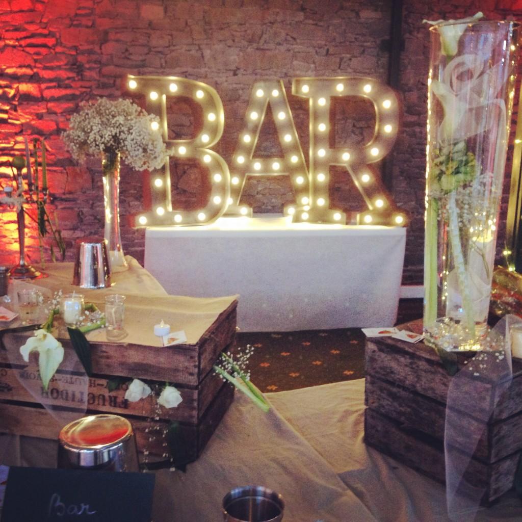 bar mariage, bar original mariage