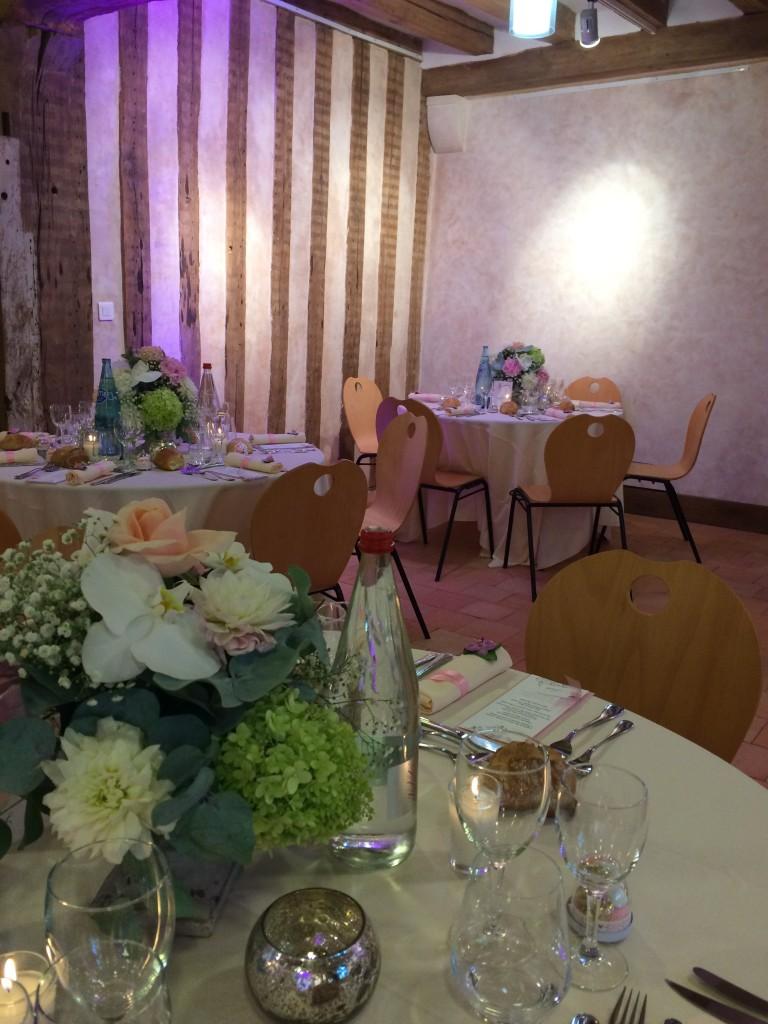 lieu de réception mariage, salle prieuré mariage