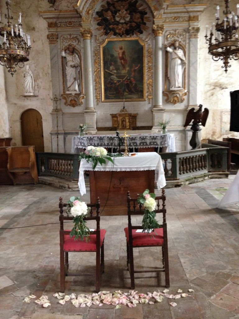 cérémonie de mariage, se marier à l'église