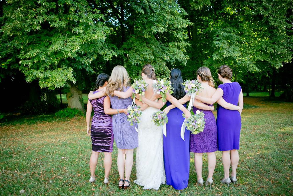 bouquet mariée, témoins de la mariée
