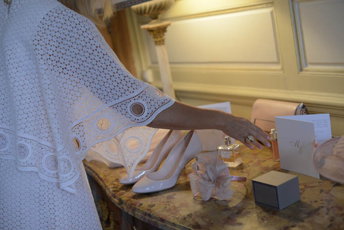 préparatifs avant mariage, robe de mariée