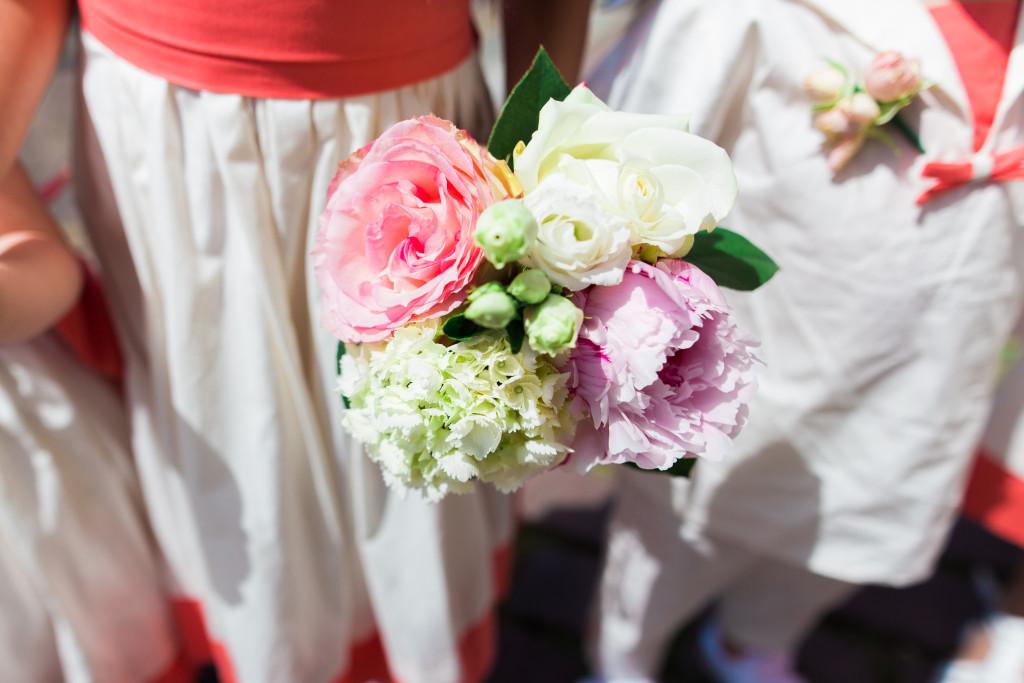 bouquet mariée été, bouquet simple mariée, wedding planner nantes