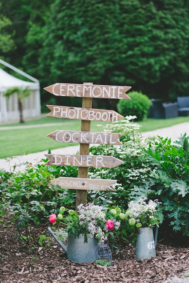 panneaux bois mariage, activités mariage