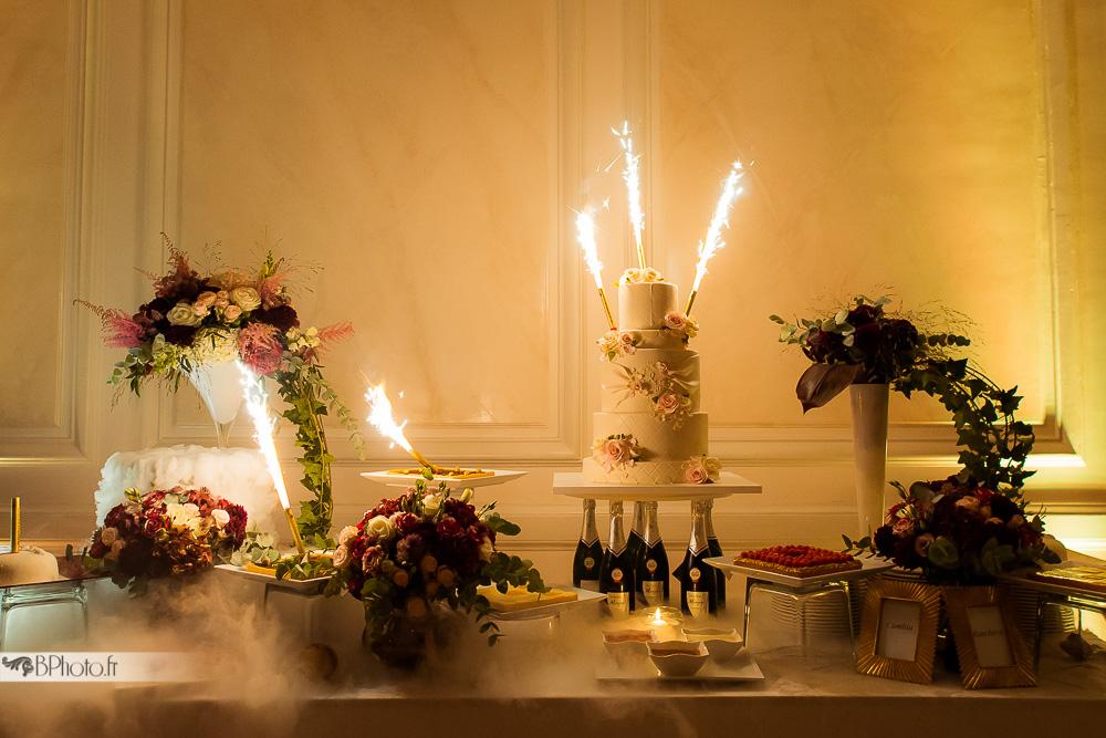 gâteau mariage, fin soirée mariage