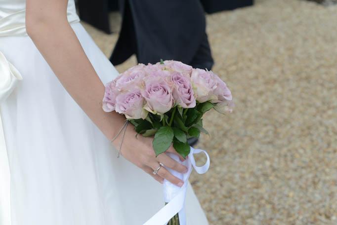 robe mariée, bouquet mariée