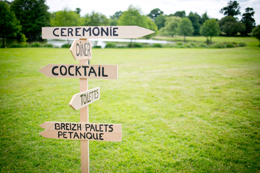 indications mariage, panneaux mariage