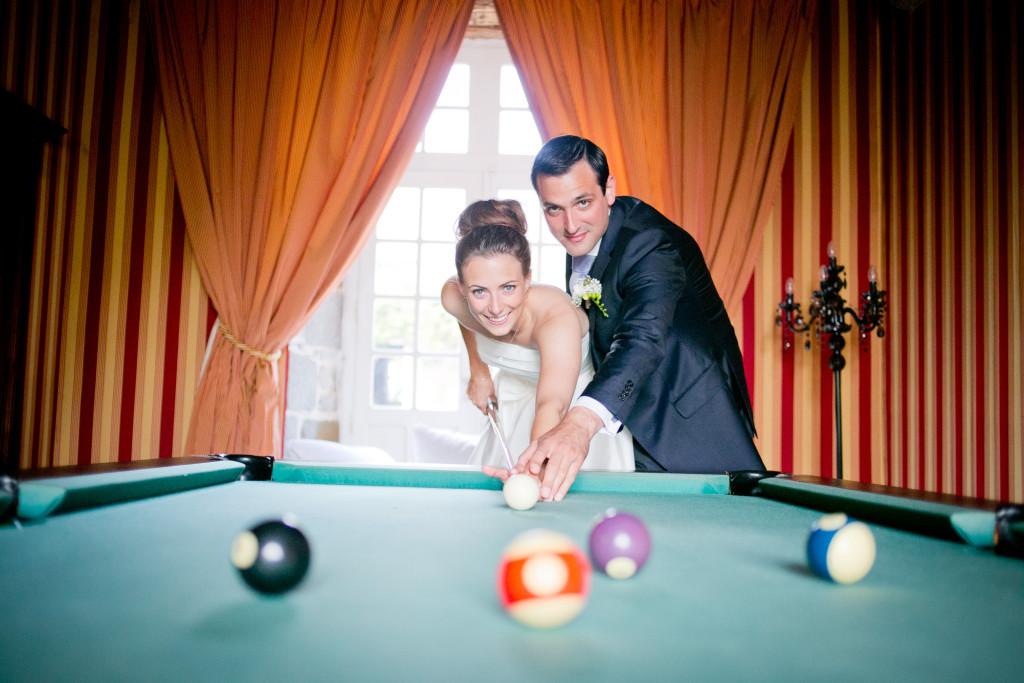 animation mariage, mariés qui jouent