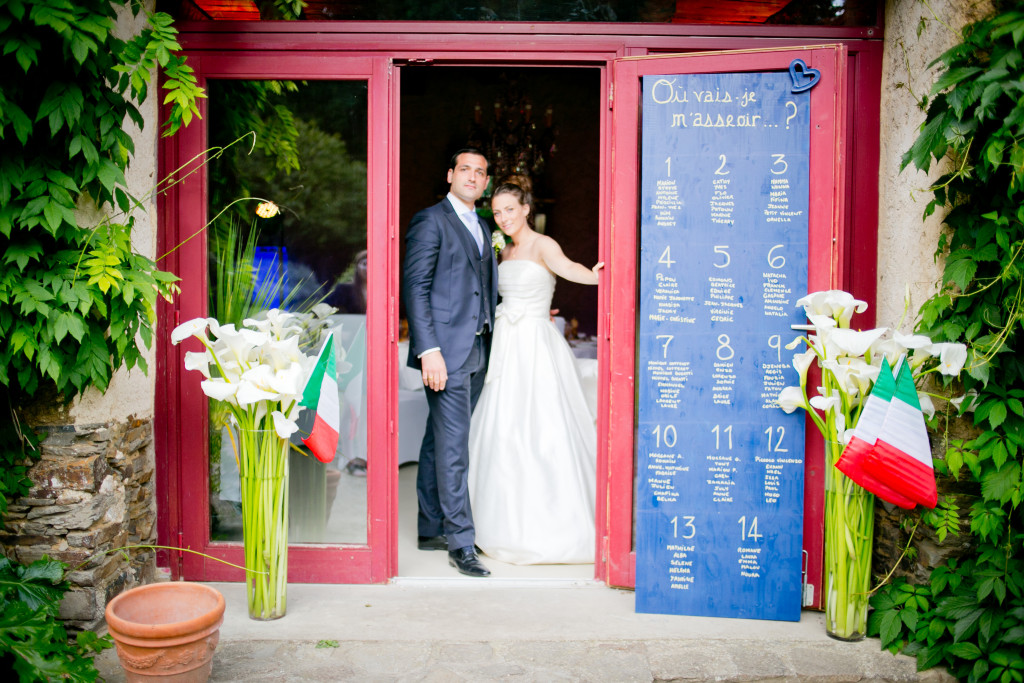 plan de table mariage, lieu réception mariage