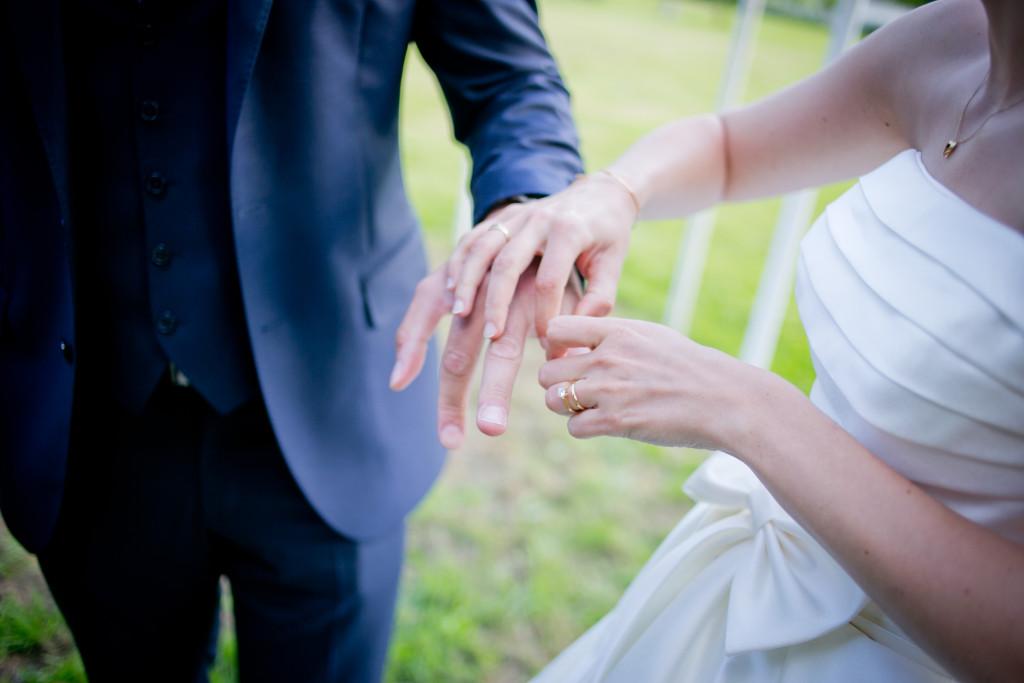 mariage en extérieur, mariage été