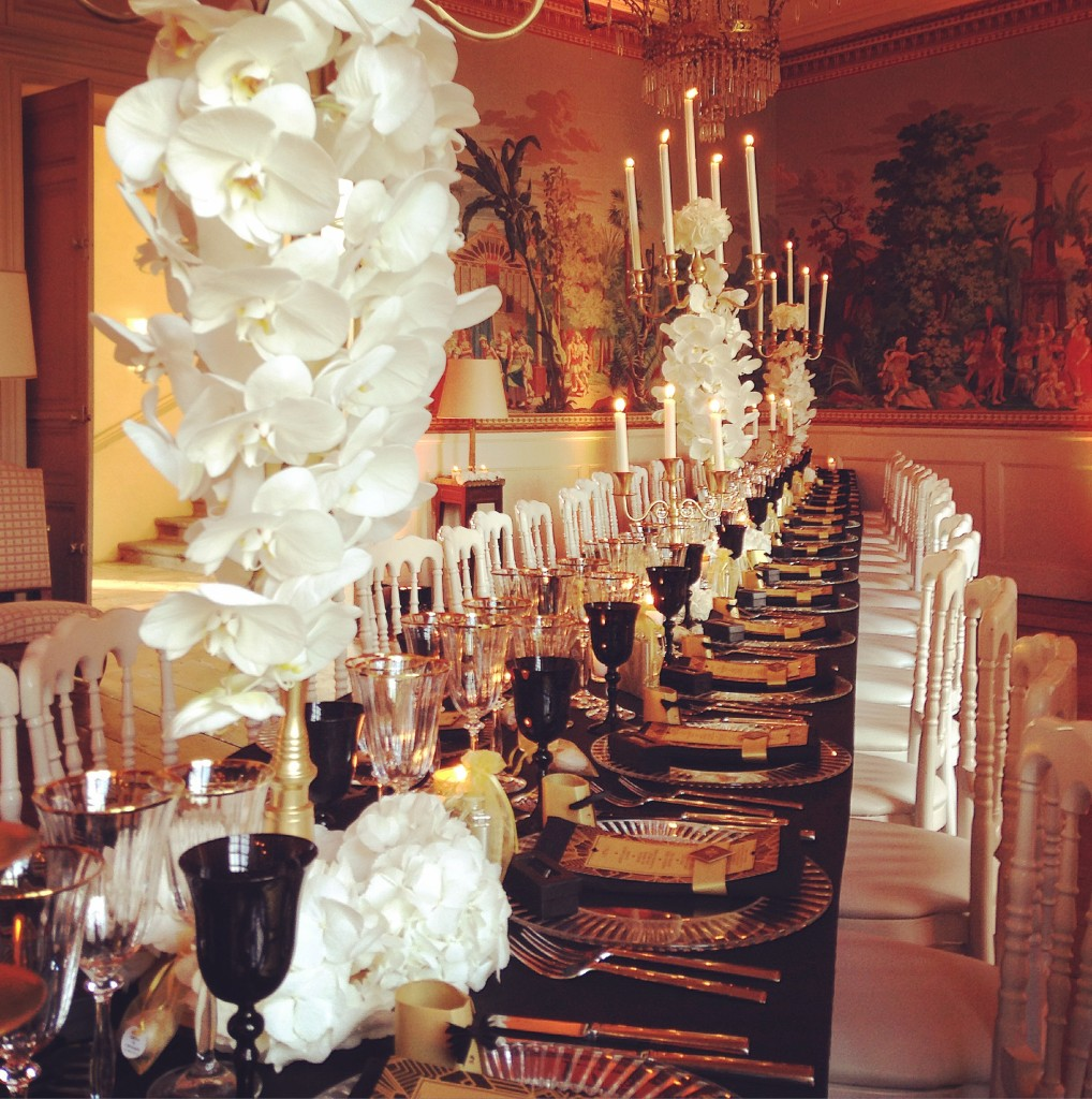 table banquet mariage, mariage chic