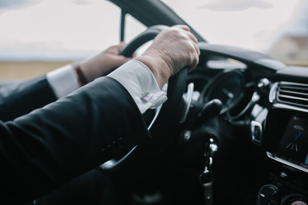 trajet mariage, voiture des mariés