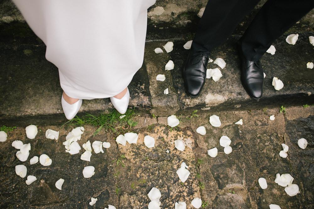 sortie mariés église, fin de cérémonie mariage