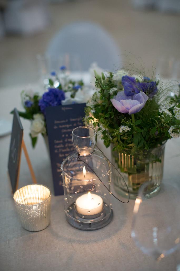 centre de table mariage, centre de table fleuri mariage