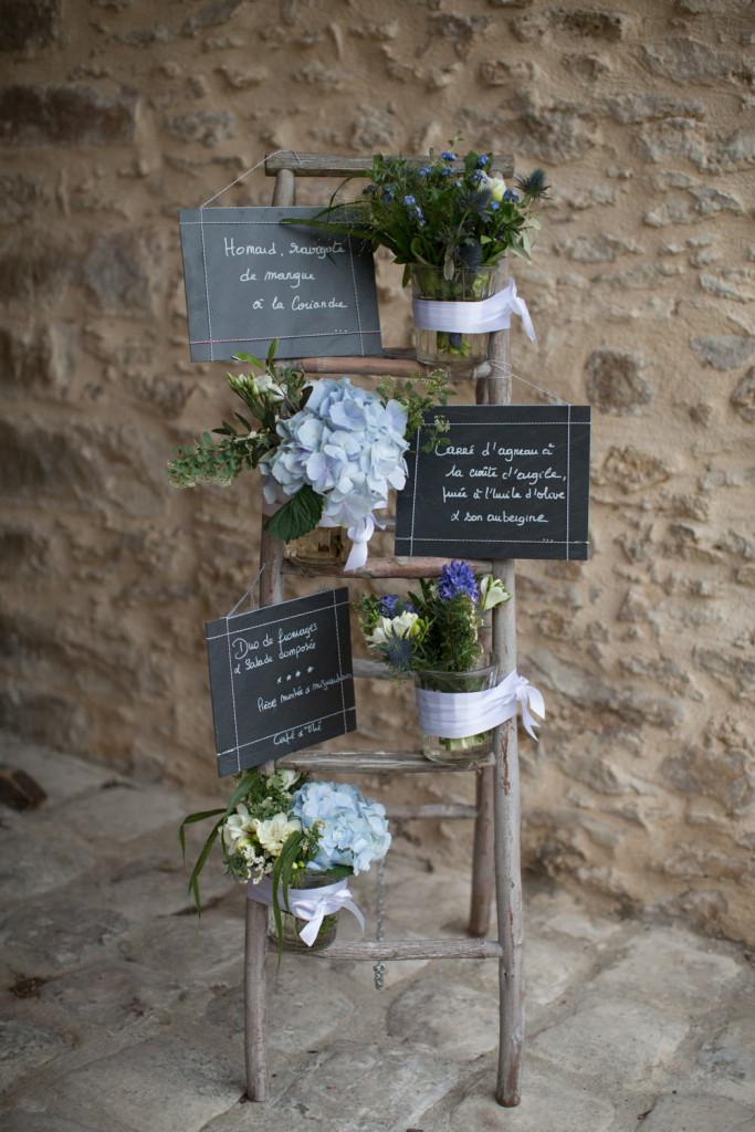 décoration de mariage, compositions florales mariage