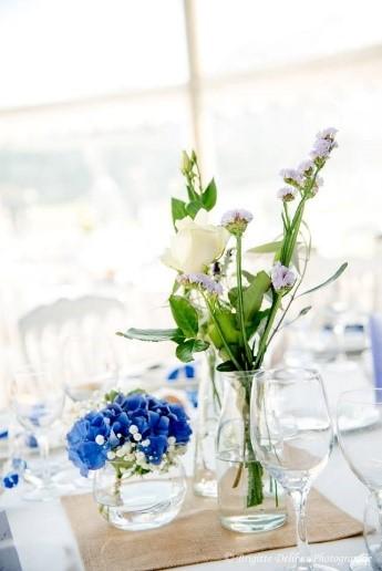 vase table mariage, centre de table vase
