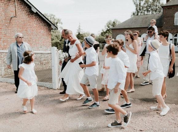 sortie de mariés, sortie de cérémonie