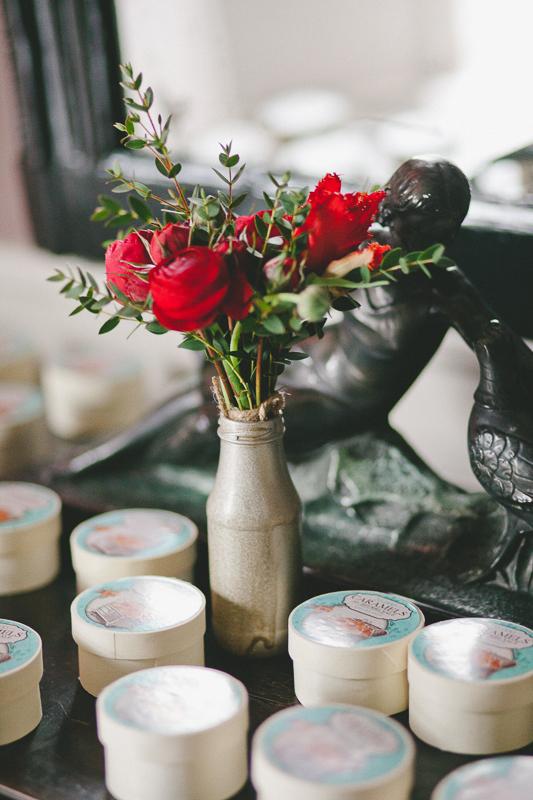fleurs mariage, mariage romantique