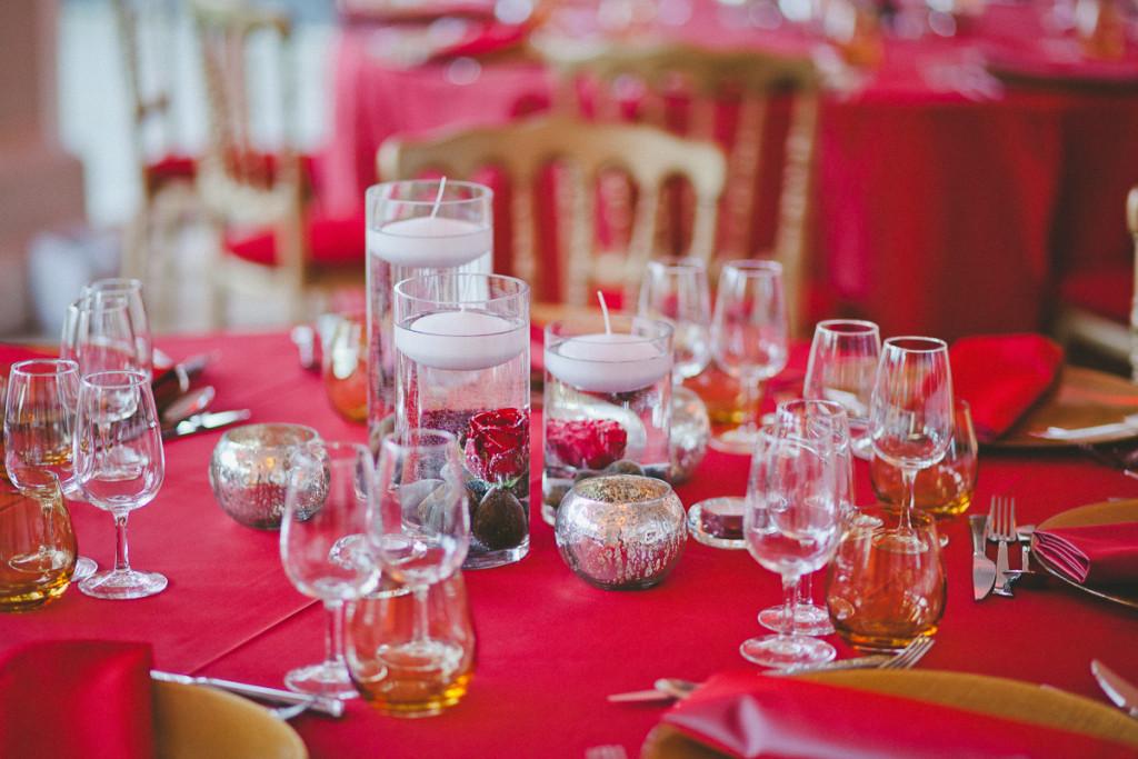décoration mariage, décoration mariage rouge