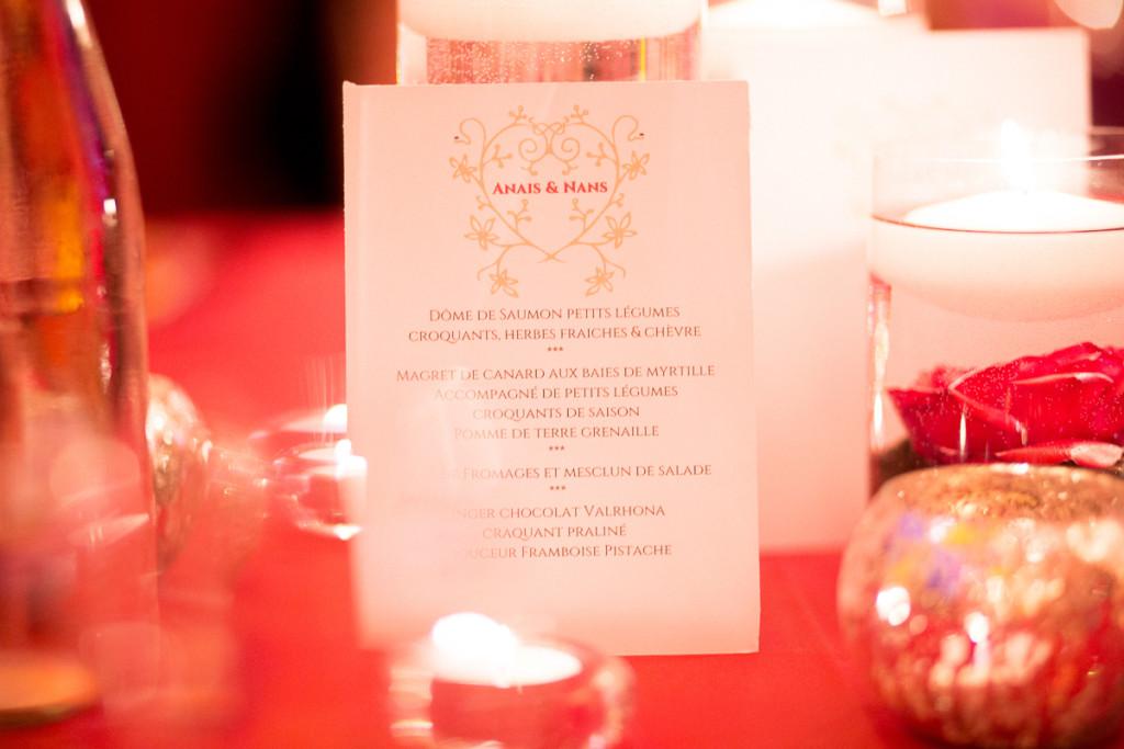 décoration de table mariage, bougie mariage