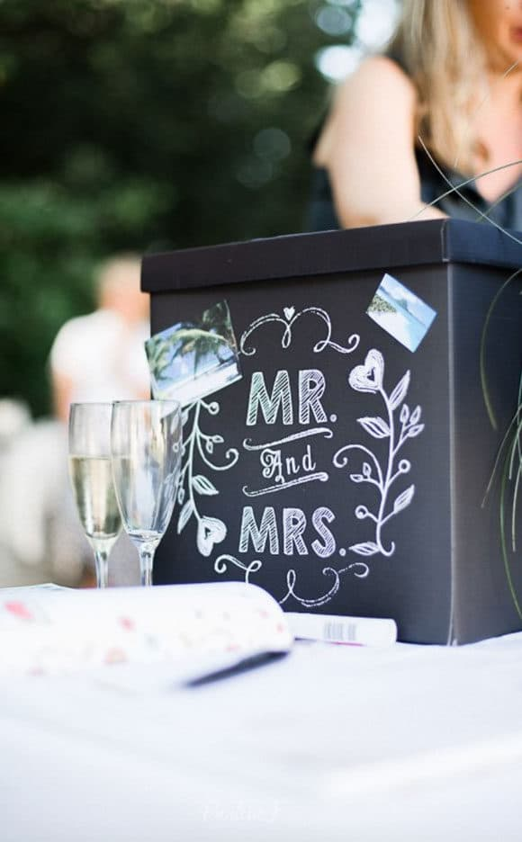 urne mariage, boite mariage