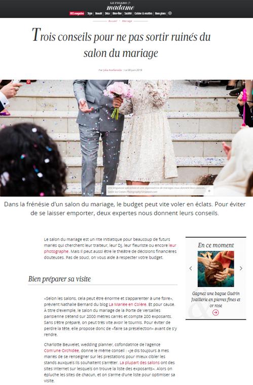 Conseils salon de mariage