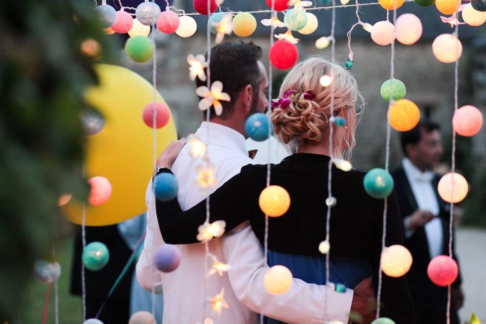 guirlandes lumineuses mariage