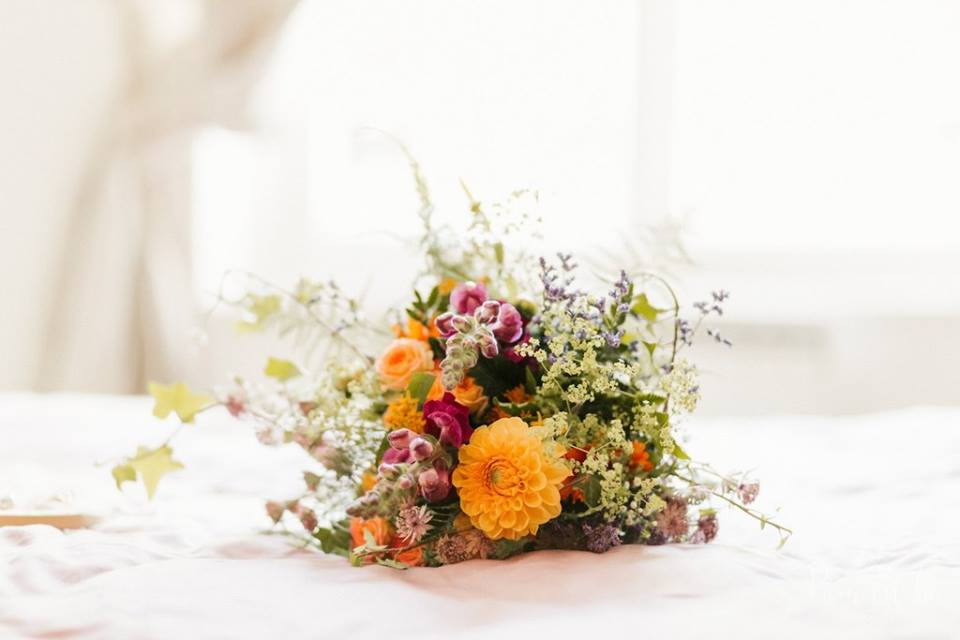 bouquet de fleurs été