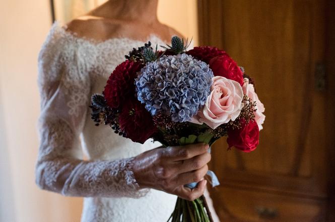 bouquet de mariage automnal