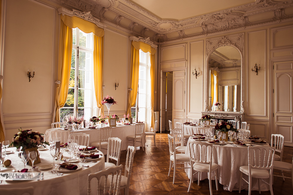 Salle de dîner mariage