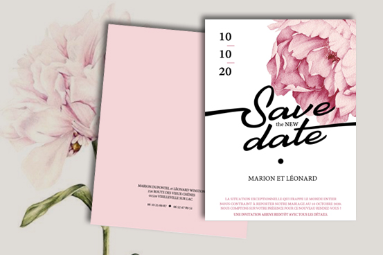 carte faire-part save the new date