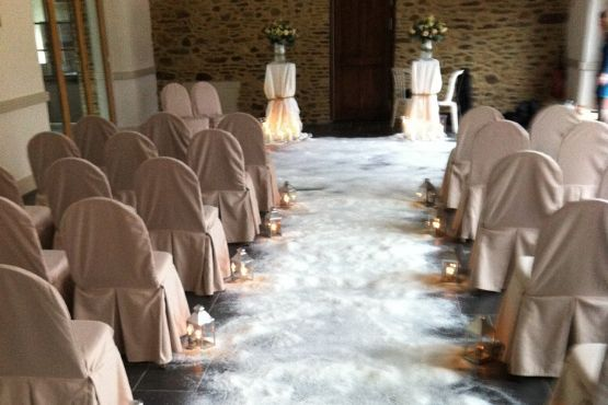 cérémonie laique en intérieur
