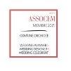 Membre ASSOCEM Partenaire recommandé par Com'Une Orchidée - Wedding planner depuis 2006