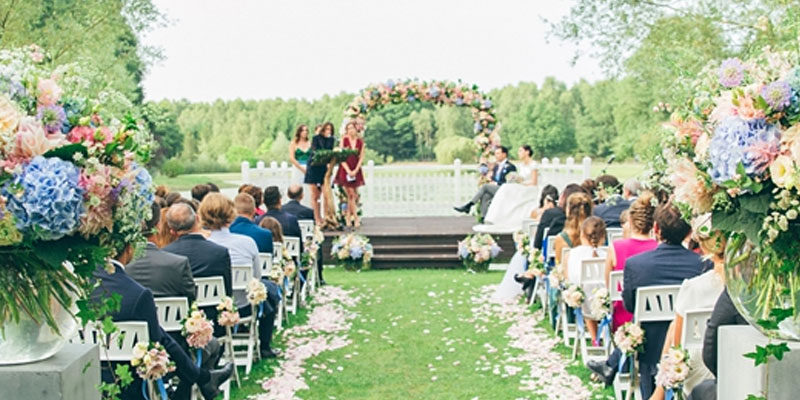 Com'Une Orchidée Real Wedding : mariage English Liberty-Wedding Planner Paris